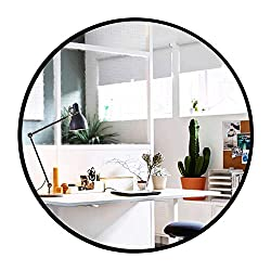 Elevens Wall Round Mirror  for bathroom living room and bedroom decor