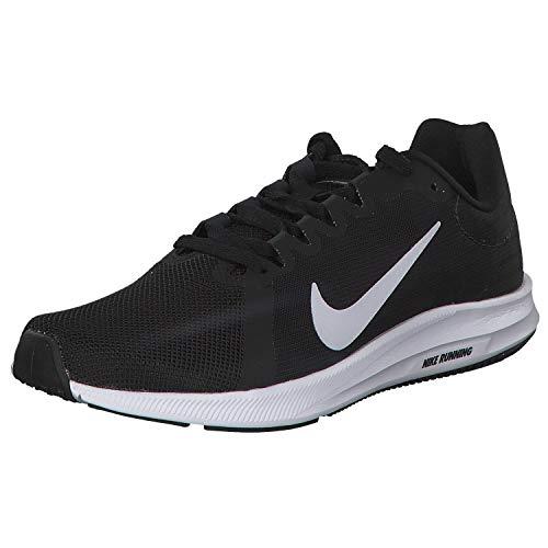 Nike Damen Downshifter 8 Sneakers, Schwarz (Black/White/Anthracite 001), 39 EU