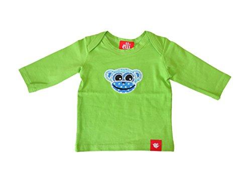 Elli Miracle morceaux bébé fille et à manches longues pour garçon Singe dans belles couleurs vert vert 80