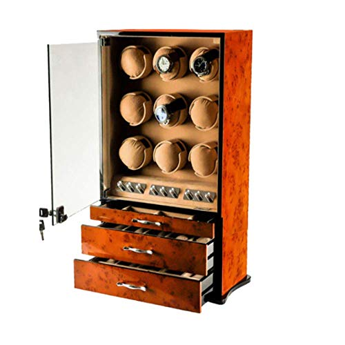Watch Winder,Automatic Watch Winder with 9 Watch Winder Positions and 9...