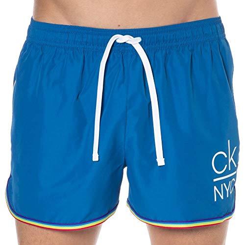 Calvin Klein Ck NYC Pride - Pantalones cortos de baño - azul - Large