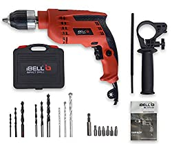 IBELL Impact Drill 13MM, 650W, 2800RPM with Auto Chuck in BMC Box and 17 Accessories,RHM Technologies, Zhejiang, Ningbo, PRC,IBL ID13-80