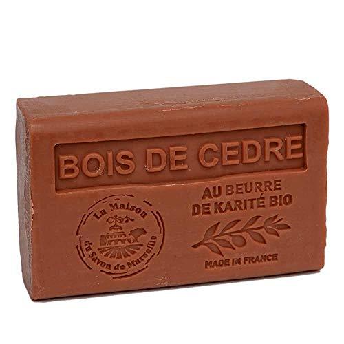Seife Zedernholz mit Sheabutter 125 g - Maison du Savon de Marseille
