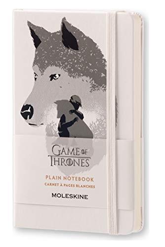 Caderno Moleskine Edição Limitada, Game of Thrones, Arya Stark, Capa Dura, Sem Pauta, Tamanho Bolso (9 x 14 cm)