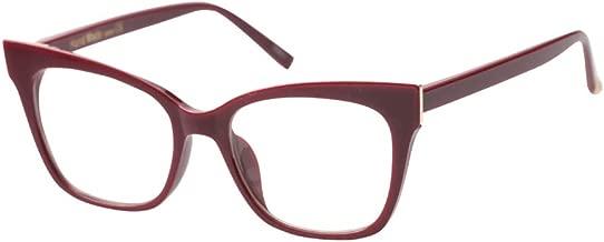 SOOLALA Vintage Stylish 53mm Lens Oversized Reading Glass Big Eyeglass Frames