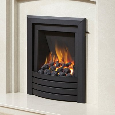 Be Modern Natural gas, inset, fire