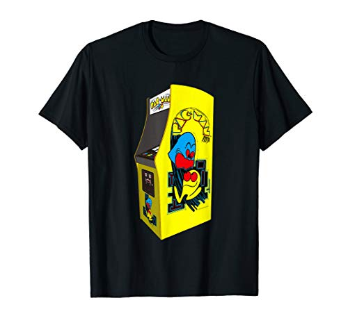 Adults Pac-Man Arcade Cabinet T-shirt for Adults or Kids, choice of colours