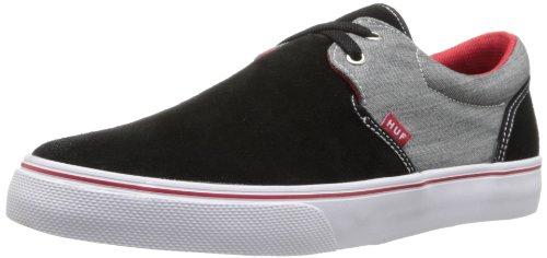 HUF Skateboard-Schuh für Herren, Schwarz (Schwarz/Chambray), 47 EU