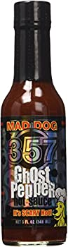Mad Dog 357 Ghost Pepper Hot Sauce 5oz