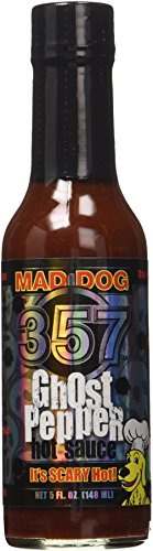 Mad Dog 357 'Ghost Pepper' Hot Sauce