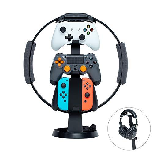 Nintendo Switch-Zubehör-Speicher-Ständer Ohrhörer-Ständer Nintendo Switch Joy-Con Pro Controller Controller Spielkarten-Ring-Con-Speicher Vertikaler Typ Platzersparnis