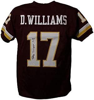 Doug Williams Autographed Washington Redskins XL Red Jersey SB MVP JSA