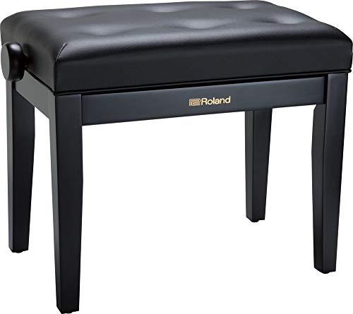 Roland Klavierbank in schwarzem Satin-Finish mit Vinyl-Sitz – RPB-300BK