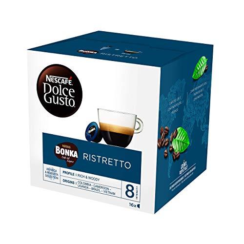 NESCAFÉ Dolce Gusto Café BONKA, Pack de 3 x 16 Cápsulas - Total: 48 Cápsulas de Café