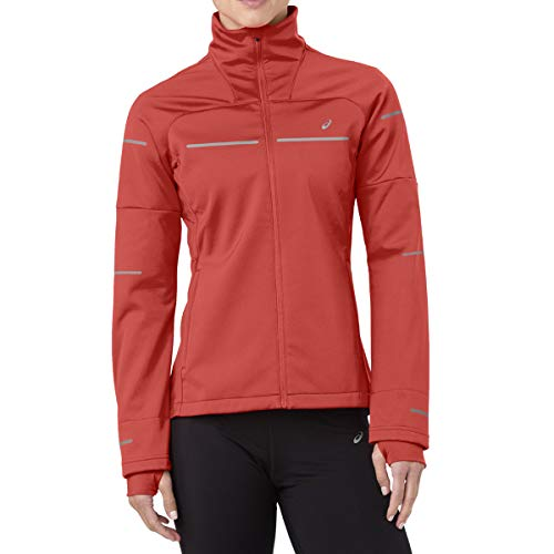 Asics Lite-Show Winter Jacket - red alert, Größe:XS