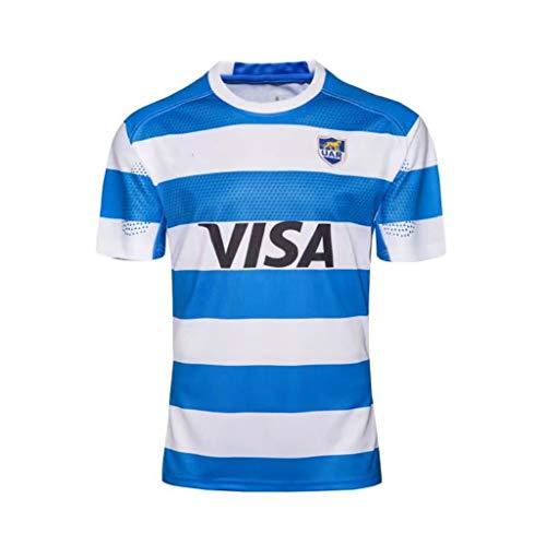 CRBsports Equipo Argentina, Rugby Jersey, Nueva Tela Bordada, Ropa Deportiva Swag