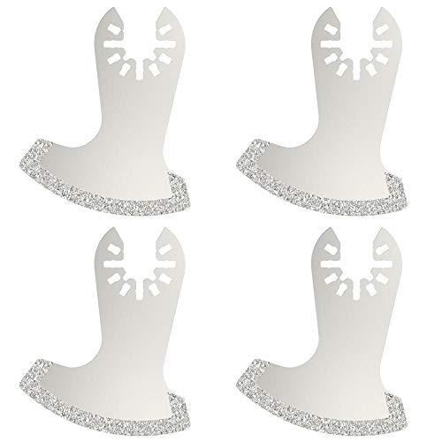 Hojas de sierra oscilantes multiherramientas de 4 piezas para herramientas eléctricas de renovador como accesorios de herramientas eléctricas