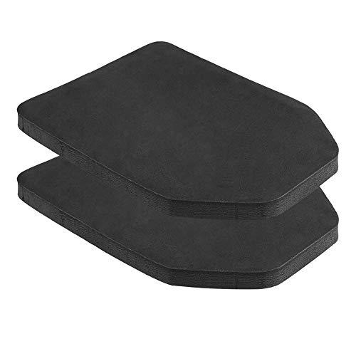 Platte Schutzplatte, 2er Set Schutzpad für Taktische Weste Innere Platte EVA Schaumstoff Rucksackeinsatz für CS Spiel Paintball Jagd Airsoft Kugelsichere Outdoor-Aktivitäten