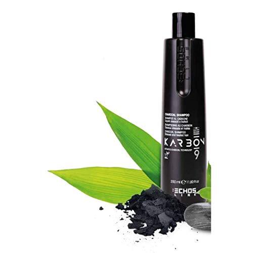 Echosline Karbon.9 Shampoo mit Aktivkohle by sunside75 1000 ml