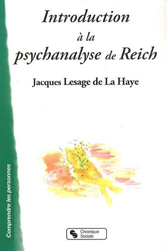 Introduction à la psychanalyse de Reich PDF Books