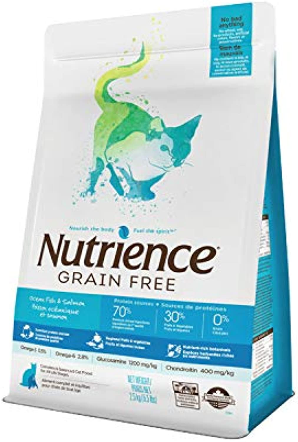 Nutrience Grain Free Ocean Fish Cat Food (5.5lb)