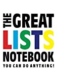 The Great Lists Notebook (You can do anything!): (White Edition) Fun notebook 192 lined pages (A4 / 8.27x11.69 inches / 21x29.7cm)