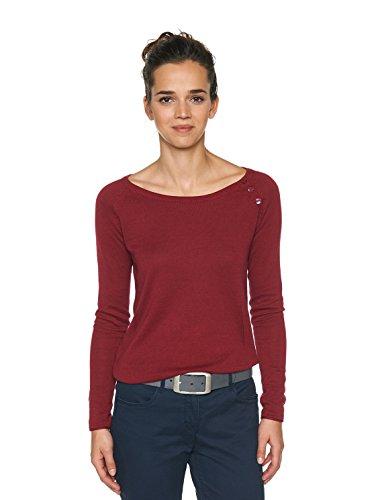 TOM TAILOR für Frauen Belts Leder-Gürtel im Used-Look, Grau / Grey, 90