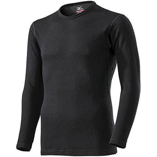 [ミズノ] アンダーウェア ブレスサーモEXプラス クルーネック長袖シャツ C2JA9614 メンズ ブラック 日本 LL...