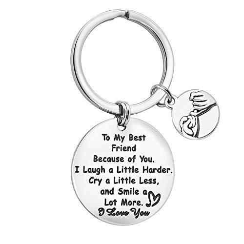 Bester Freund Schlüsselbund - zu Meinem besten Freund Schlüsselbund Freundschaftsgeschenke - Bester Freund Geburtstagsgeschenke Abschlussgeschenke