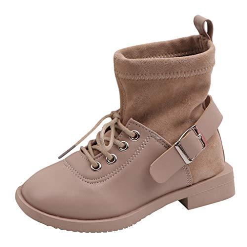 Gaatpot Bottes de Neige B/éb/é Gar/çon Fille Premiers Pas Chaud Hiver Enfant Bottines Chaussures /étanche Boots Vert 30EU