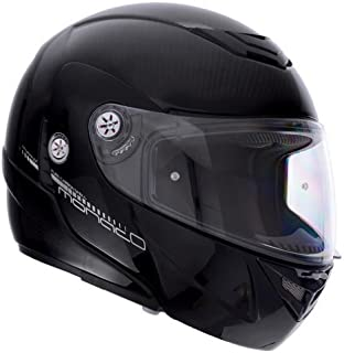 Lazer Monaco Casco da moto, Pure Carbon/Nero/Carbon, XS