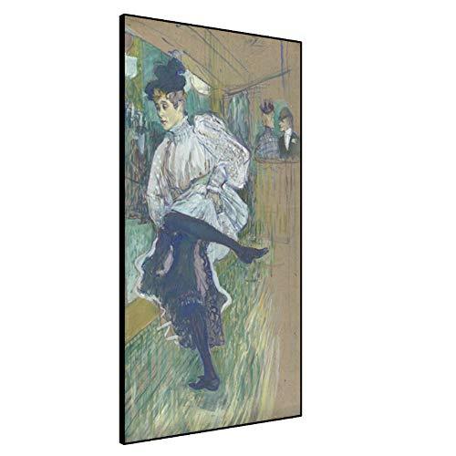 sjkkad Tanzen Janet, 1892 Von Rockett Malerei Leinwand Kunst Ölgemälde Orsay Museum Sammlung Klassischer Druck Poster Wanddekor Bild -50x100cm Kein Rahmen