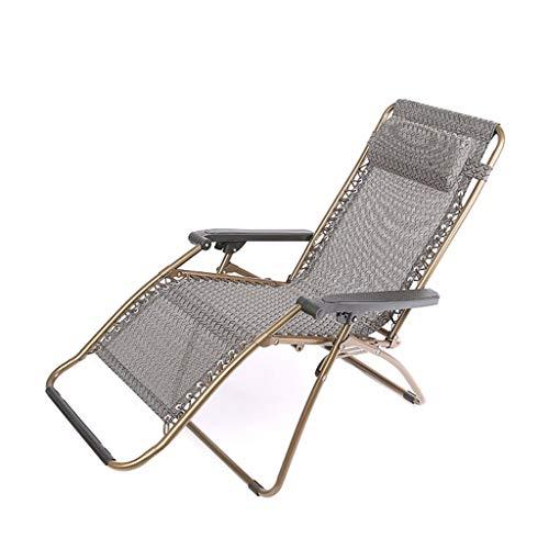 CGF- Chaises longues Fauteuils inclinables pliants réglables pour Chaise Zero Gravity de Tissu de Maille pour la Piscine de Plage de Cour extérieure de Patio, capacité de Poids de 300 Livres