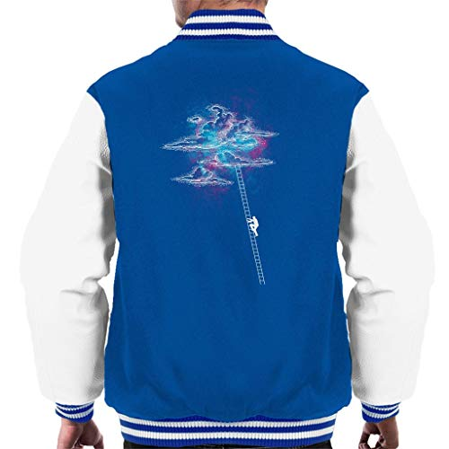 Ladder to The Cotton Candy Clouds Varsity Jacket voor heren