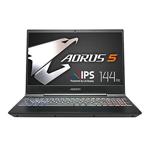 AORUS 5 NA-7US1121SH 15' Thin Bezel LG 144Hz FHD IPS LCD, i7-9750H,...