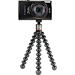 Evolved: New stainless steel reinforced ball head with 90° tilt is perfect for shooting in portrait or landscape mode for FaceTime, livestreaming and selfies Flexible: Wrappable legs wrap around objects for unlimited angles and precise composition co...