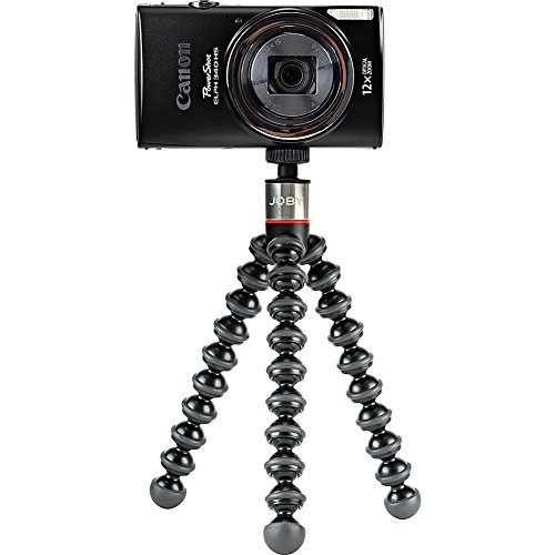 Joby JB01505-BWW GorillaPod 325 Tripod for Camera, Black/Charcoal