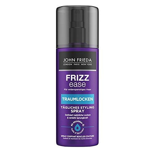 John Frieda Frizz Ease Traumlocken Tägliches Styling Spray - (200 ml) - verleiht natürlichen Locken Form, Elastizität und Sprungkraft