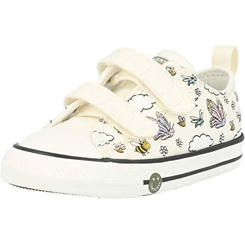 Converse Chuck Taylor All Star 2V Ox Camp Blanco/Lila (Vintage White/Moonstone Violet)...