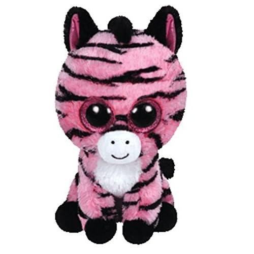 TY Beanie Boo Plush-Zoey le zèbre 15 cm couleur peut varier