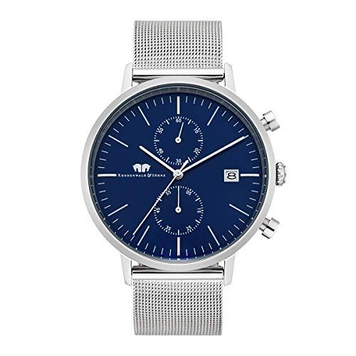 Rhodenwald & Söhne Reloj para Hombre Análoga Japón de Cuarzo con Cerrea de Acero Fino 10010077