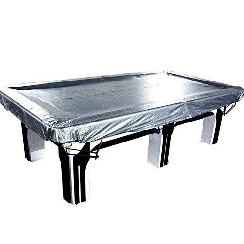 SSRS Jardín Muebles de ratán Cubierta de Ping-Pong al Aire Libre Impermeable a Prueba de Polvo de PVC de protección Solar, 5 Tamaño portátil, Duradero (Color : Silver, Size : 240X130CM)