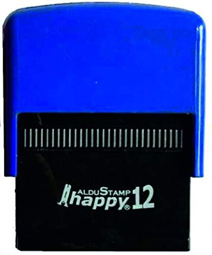 Timbro Autoinchiostrante Personalizzato HAPPY 12 mm 47x18 - Personalizzazione inclusa