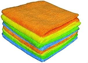 Sheen 8 Piece 300 GSM Microfibre Towel Set - Multicolour