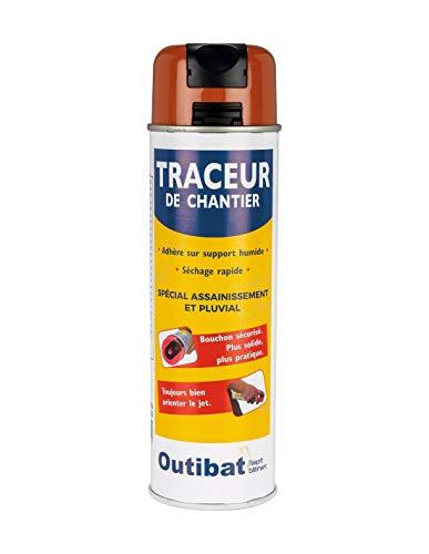 Outibat - Tracciatore da cantiere, colore: Marrone