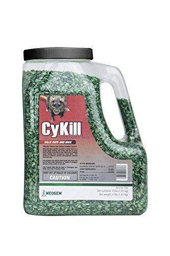 Neogen Cykill Bromethalin Rodenticide Bait, 4 lb. Jug