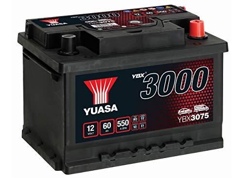 YUASA - BATTERIE YUASA YBX3075 12V 60AH 550A