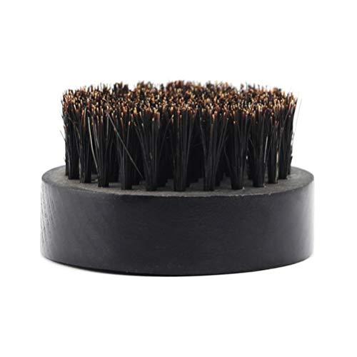 Pixnor Brosse à Barbe Poils Doux en Bois pour Une Condition D'exfoliation Ultime pour Les Outils de Lissage de Barbe Produits de Soin pour Moustache de Barbe