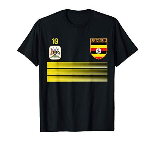Uganda Fußballtrikot 2021 Ugandan Fußball T-Shirt