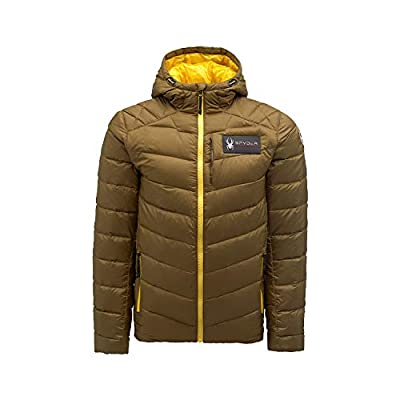 Spyder Active Sports Men's U.S. Ski Team, Team Timeless Down Jacket, Sarge, XX-Large